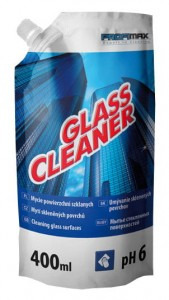 Glass cleaner - saszetka 400 ml  x 14 szt. - środek do mycia szyb i luster